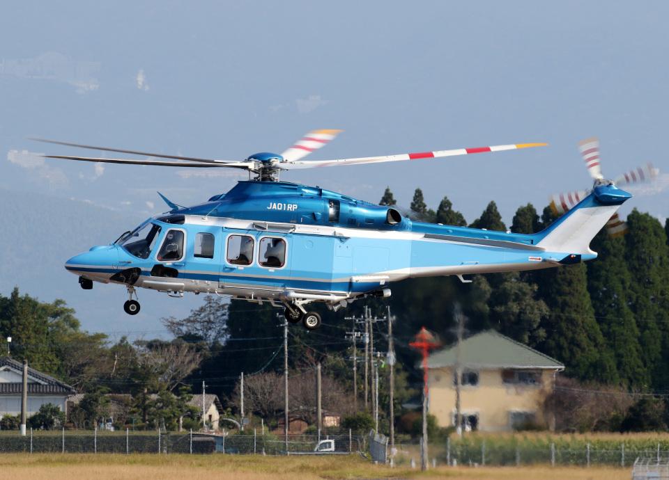voyagerさんの三井物産エアロスペース Leonardo AW139 (JA01RP) 航空フォト