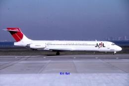 キットカットさんが、羽田空港で撮影した日本航空 MD-87 (DC-9-87)の航空フォト(飛行機 写真・画像)
