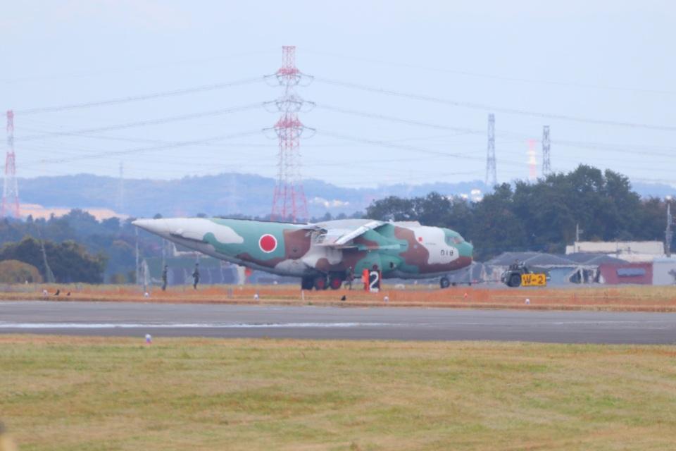 ぼのさんの航空自衛隊 Kawasaki C-1 (68-1018) 航空フォト