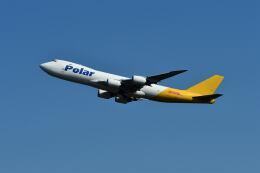 yotaさんが、成田国際空港で撮影したポーラーエアカーゴ 747-87UF/SCDの航空フォト(飛行機 写真・画像)