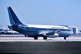 パール大山さんが、マイアミ国際空港で撮影したケベックエア 737-2Q9/Advの航空フォト(飛行機 写真・画像)