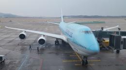 hachiさんが、仁川国際空港で撮影した大韓航空 747-8B5の航空フォト(飛行機 写真・画像)