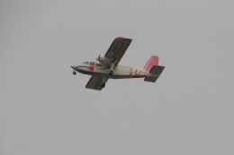 kahluamilkさんが、新潟空港で撮影した旭伸航空 BN-2B-20 Islanderの航空フォト(飛行機 写真・画像)