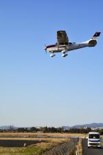 Gambardierさんが、岡南飛行場で撮影した日本航空学園 T206H Turbo Stationairの航空フォト(飛行機 写真・画像)