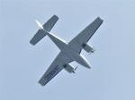 いねねさんが、名古屋飛行場で撮影した朝日航空 G58 Baronの航空フォト(飛行機 写真・画像)