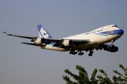 ▲®さんが、成田国際空港で撮影した日本貨物航空 747-4KZF/SCDの航空フォト(飛行機 写真・画像)