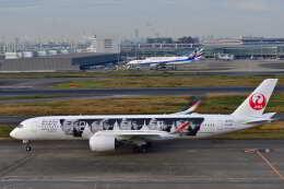 天心さんが、羽田空港で撮影した日本航空 A350-941の航空フォト(飛行機 写真・画像)