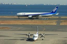 Hiro-hiroさんが、羽田空港で撮影したANAウイングス DHC-8-314Q Dash 8の航空フォト(飛行機 写真・画像)