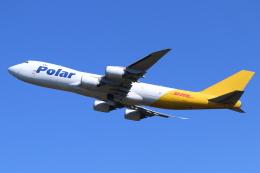 やつはしさんが、成田国際空港で撮影したポーラーエアカーゴ 747-87UF/SCDの航空フォト(飛行機 写真・画像)