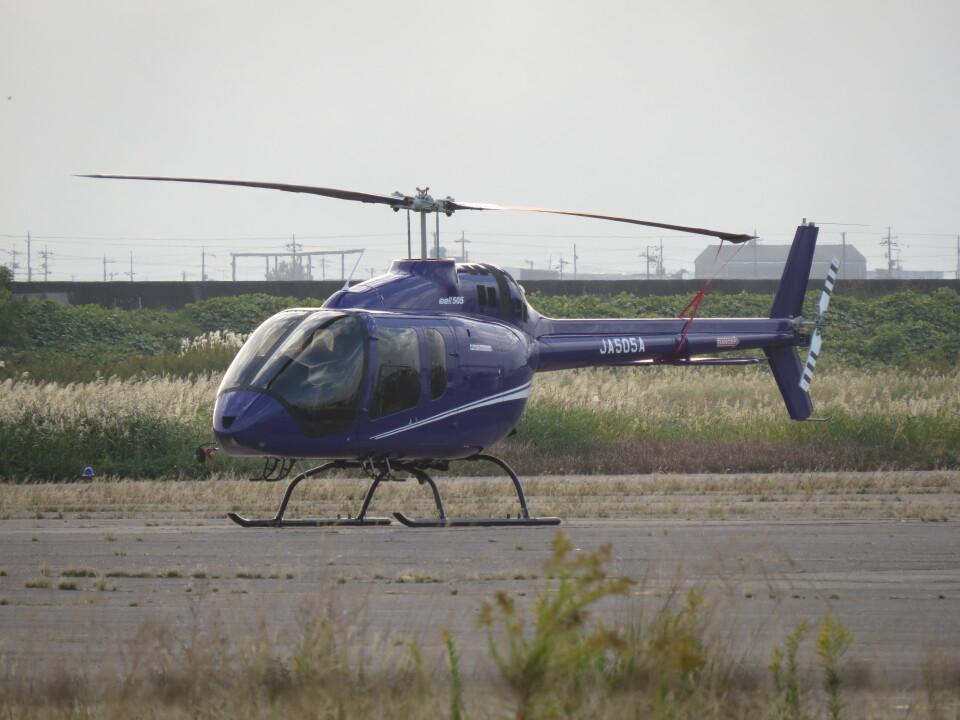 F.YUKIHIDEさんのヘリサービス Bell 505 (JA505A) 航空フォト