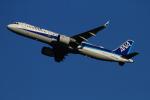 twining07さんが、羽田空港で撮影した全日空 A321-272Nの航空フォト(飛行機 写真・画像)