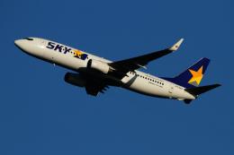twining07さんが、羽田空港で撮影したスカイマーク 737-8FZの航空フォト(飛行機 写真・画像)