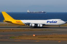 きんめいさんが、中部国際空港で撮影したポーラーエアカーゴ 747-87UF/SCDの航空フォト(飛行機 写真・画像)