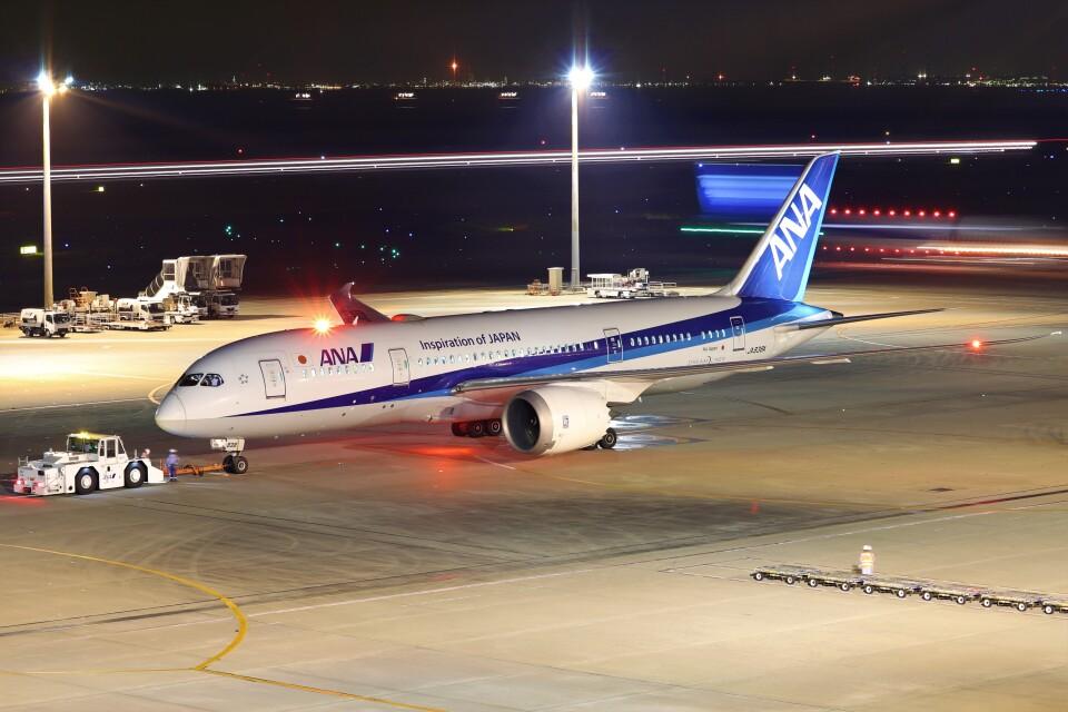 BOEING737MAX-8さんの全日空 Boeing 787-8 Dreamliner (JA838A) 航空フォト