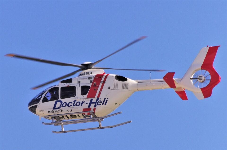 mild lifeさんの学校法人ヒラタ学園 航空事業本部 Eurocopter EC135/635 (JA818H) 航空フォト
