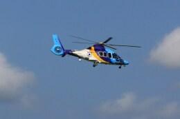 けいとパパさんが、成田国際空港で撮影した東邦航空 EC155Bの航空フォト(飛行機 写真・画像)