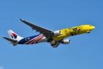 sonnyさんが、成田国際空港で撮影したマレーシア航空 A330-323Xの航空フォト(飛行機 写真・画像)