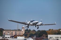 Takeshi90ssさんが、調布飛行場で撮影した日本法人所有 DA42 TwinStarの航空フォト(飛行機 写真・画像)