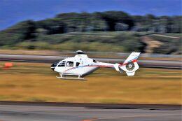 O-TOTOさんが、静岡空港で撮影した静岡エアコミュータ EC135T2の航空フォト(飛行機 写真・画像)