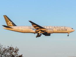 池さん@JA381Aさんが、成田国際空港で撮影したユナイテッド航空 777-224/ERの航空フォト(飛行機 写真・画像)