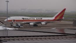 ふるちゃんさんが、羽田空港で撮影したカリッタ エア 747-4B5(BCF)の航空フォト(飛行機 写真・画像)