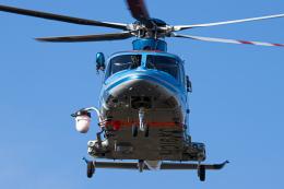 SGR RT 改さんが、成田国際空港で撮影した千葉県警察 AW139の航空フォト(飛行機 写真・画像)