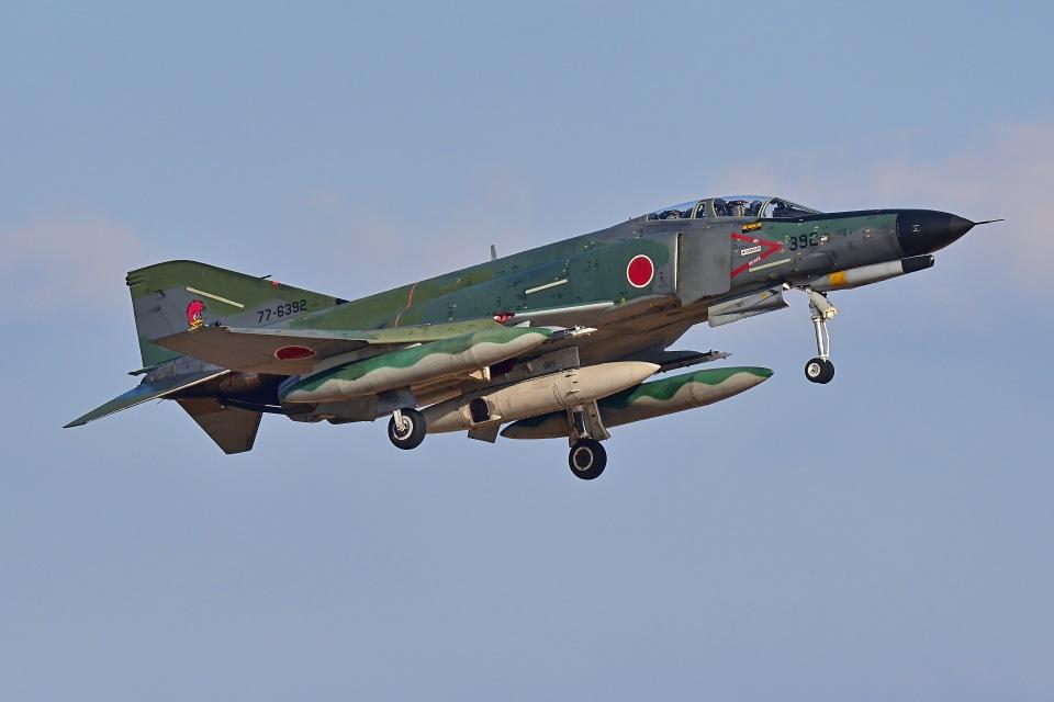 はるかのパパさんの航空自衛隊 Mitsubishi RF-4EJ Phantom II (77-6392) 航空フォト