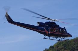 ラムさんが、静岡ヘリポートで撮影した鹿児島国際航空 412HPの航空フォト(飛行機 写真・画像)