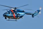 ブルーさんさんが、名古屋飛行場で撮影した愛知県警察 BK117C-1の航空フォト(飛行機 写真・画像)
