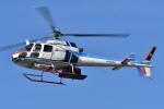 ブルーさんさんが、静岡ヘリポートで撮影した中日本航空 AS350B Ecureuilの航空フォト(飛行機 写真・画像)