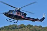 ブルーさんさんが、静岡ヘリポートで撮影した鹿児島国際航空 412HPの航空フォト(飛行機 写真・画像)