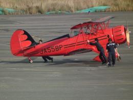 ヒコーキグモさんが、岡南飛行場で撮影した日本個人所有 YMF-F5Cの航空フォト(飛行機 写真・画像)