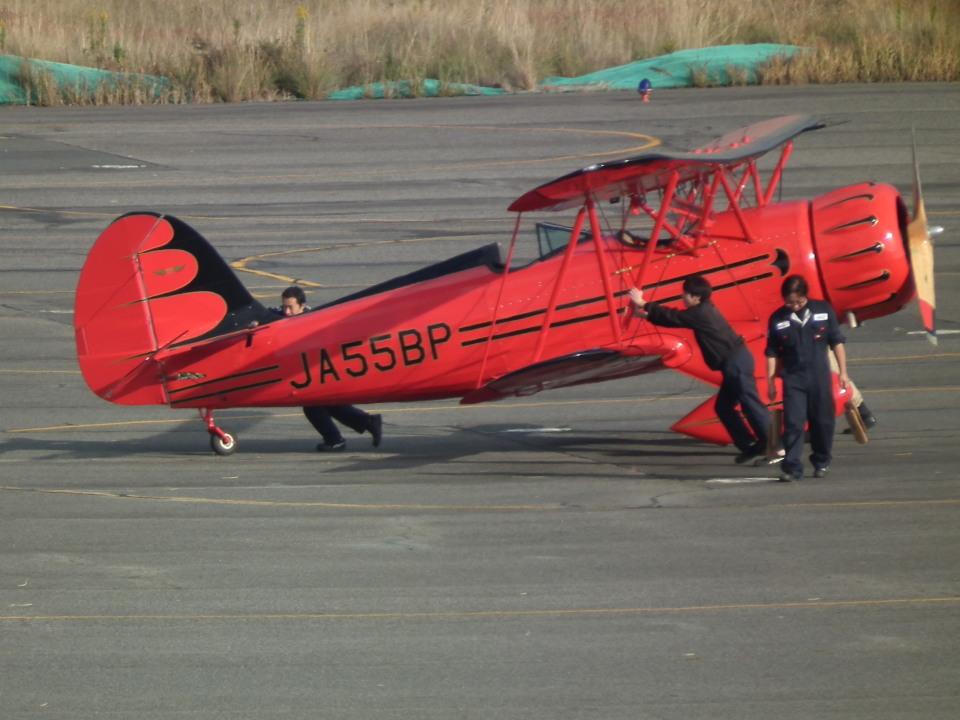 ヒコーキグモさんの日本個人所有 Waco F (JA55BP) 航空フォト