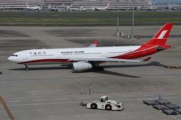 kahluamilkさんが、羽田空港で撮影した上海航空 A330-343Xの航空フォト(飛行機 写真・画像)