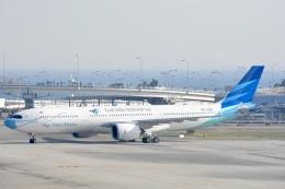 FLYING  HONU好きさんが、関西国際空港で撮影したガルーダ・インドネシア航空 A330-941の航空フォト(飛行機 写真・画像)