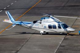 A.Tさんが、名古屋飛行場で撮影した日本デジタル研究所(JDL) AW109SP GrandNewの航空フォト(飛行機 写真・画像)