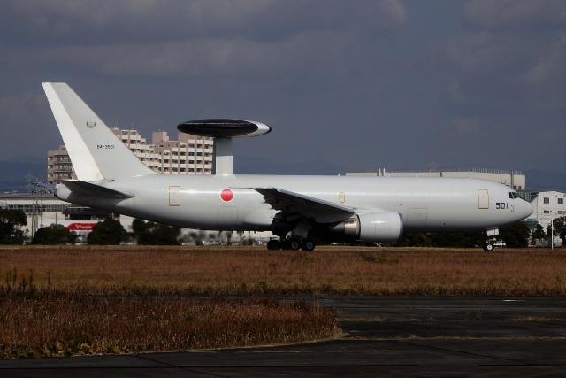 レドームさんが、浜松基地で撮影した航空自衛隊 E-767 (767-27C/ER)の航空フォト(飛行機 写真・画像)