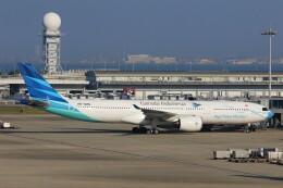関西国際空港 - Kansai International Airport [KIX/RJBB]で撮影されたガルーダ・インドネシア航空 - Garuda Indonesia [GA/GIA]の航空機写真
