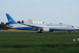 神宮寺ももさんが、成田国際空港で撮影した厦門航空 787-9の航空フォト(飛行機 写真・画像)