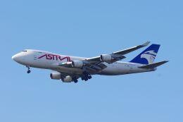 ladyinredさんが、成田国際空港で撮影したアストラル・アヴィエーション 747-48EF/SCDの航空フォト(飛行機 写真・画像)