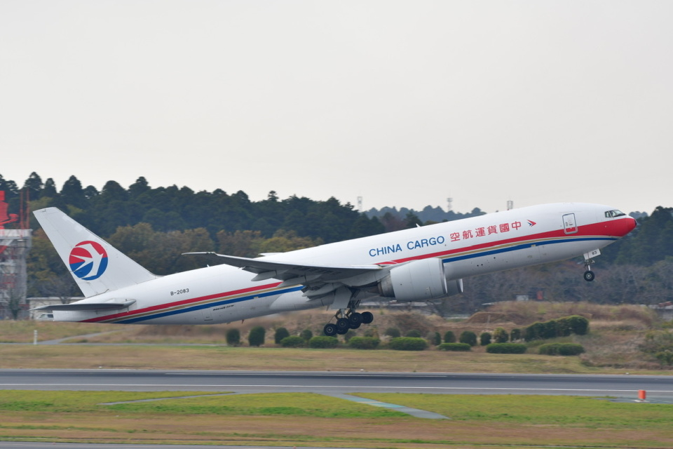 チョロ太さんの中国貨運航空 Boeing 777-200 (B-2083) 航空フォト