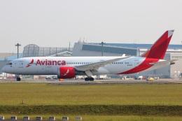 たみぃさんが、成田国際空港で撮影したアビアンカ航空 787-8 Dreamlinerの航空フォト(飛行機 写真・画像)