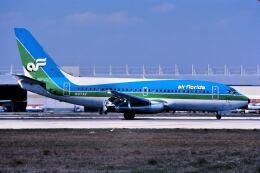パール大山さんが、マイアミ国際空港で撮影したエア・フロリダ 737-2Q9/Advの航空フォト(飛行機 写真・画像)