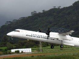 frankさんが、新石垣空港で撮影した琉球エアーコミューター DHC-8-402Q Dash 8 Combiの航空フォト(飛行機 写真・画像)