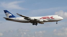 raichanさんが、成田国際空港で撮影したアストラル・アヴィエーション 747-48EF/SCDの航空フォト(飛行機 写真・画像)