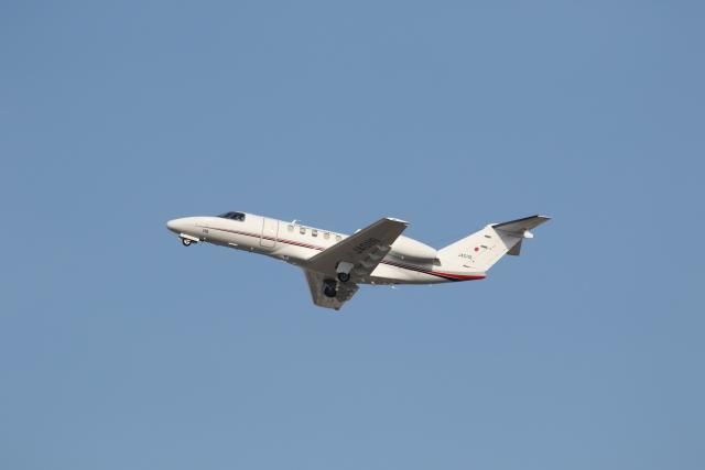 ANA744Foreverさんが、伊丹空港で撮影した国土交通省 航空局 525C Citation CJ4の航空フォト(飛行機 写真・画像)