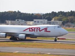 hirohirokinさんが、成田国際空港で撮影したアストラル・アヴィエーション 747-48EF/SCDの航空フォト(飛行機 写真・画像)