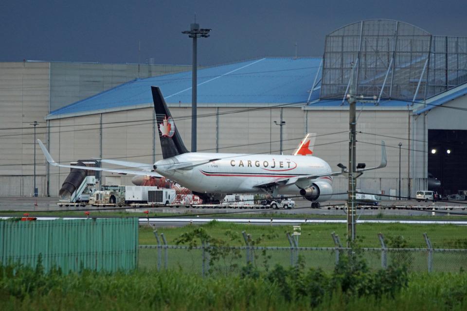 神宮寺ももさんのカーゴジェット・エアウェイズ Boeing 767-300 (C-GAJG) 航空フォト