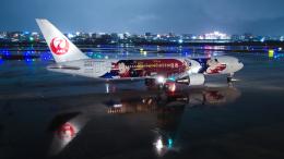 tsuna72さんが、福岡空港で撮影した日本航空 767-346/ERの航空フォト(飛行機 写真・画像)