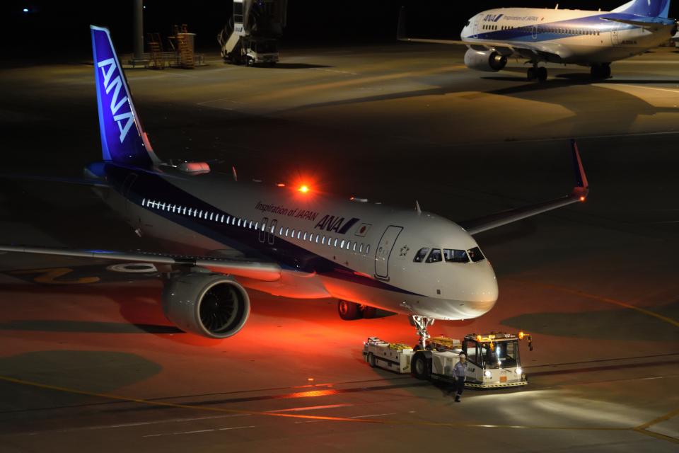 gucciyさんの全日空 Airbus A320neo (JA215A) 航空フォト